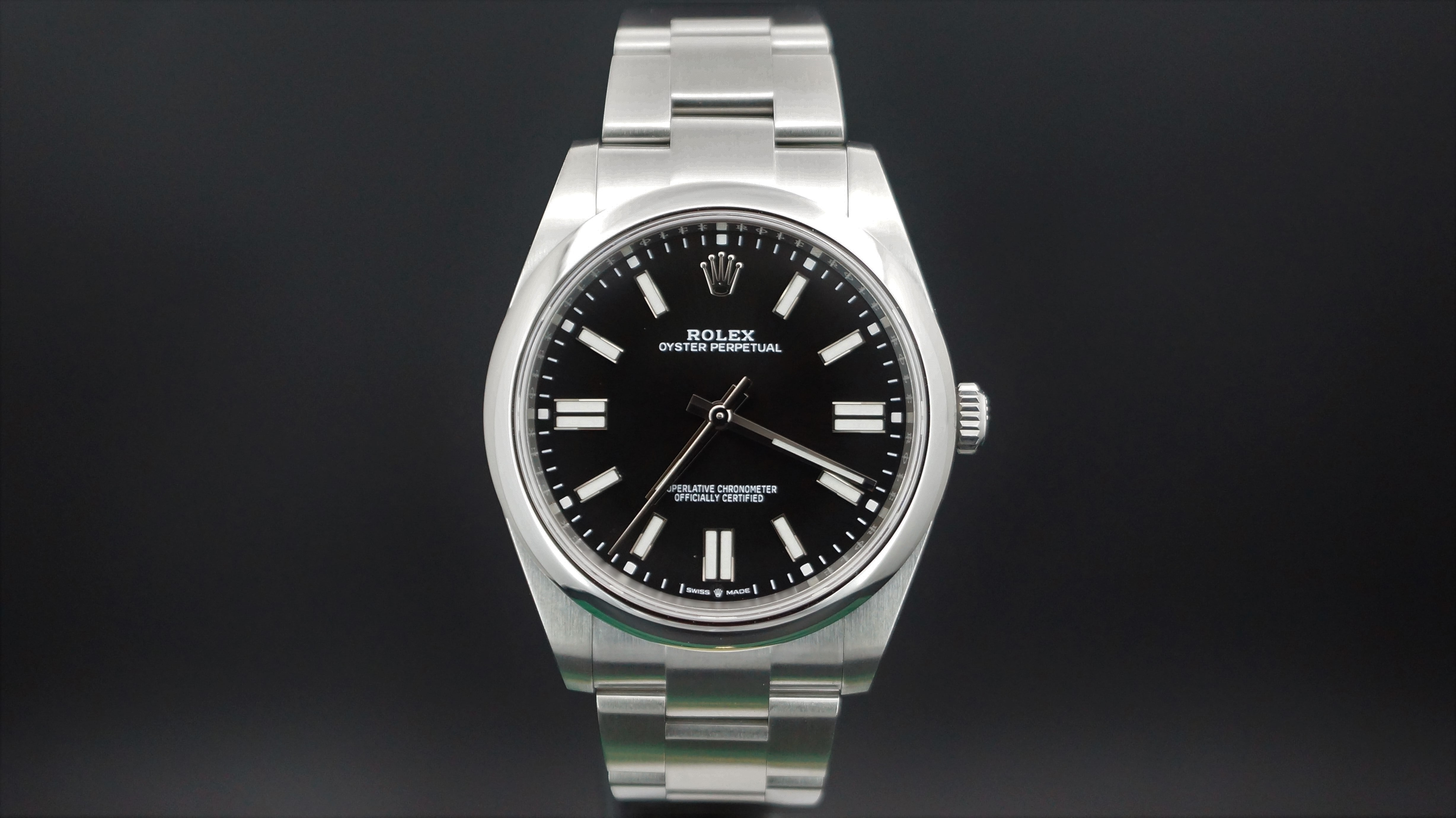 Rolex Oyster Perpetual 41mm Ref:124300