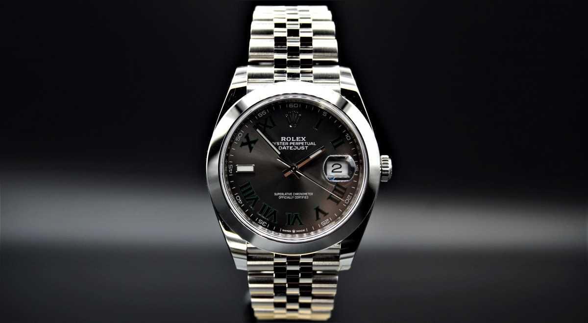 Rolex Datejust Wimbledon - 126300