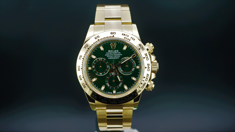 Rolex Daytona Altın (Yeşil Kadran) Ref:116508